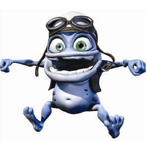 Daddy Dj (пародия на basshunter All I Ever Wanted) Crazy Frog