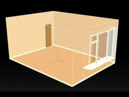 Как создать комнату в 3д макс